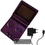 GBA Konsol Game Boy Advance SP Lila Donkey Kong