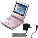 GBA Konsol Game Boy Advance SP AGS-101 Pearl Pink