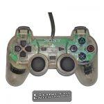 PS1 Handkontroll Original DualShock Clear