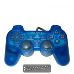 PS1 Handkontroll Original DualShock Blå