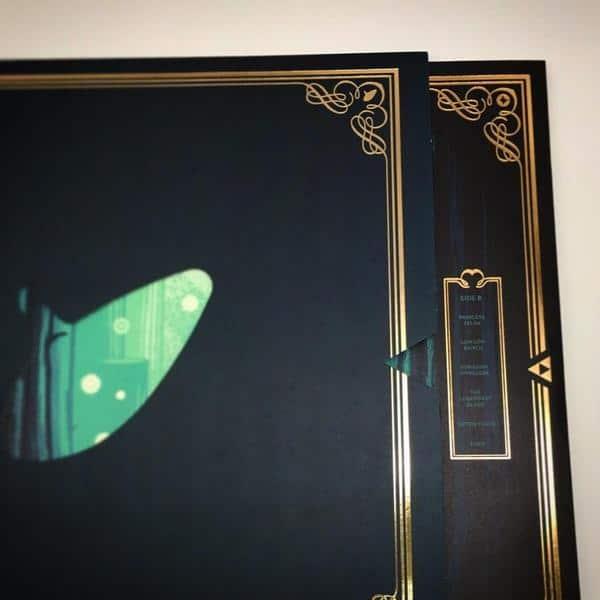 VINYL Zelda - Ocarina of Time Soundtrack 2xLP (Hero of ...
