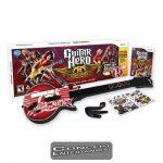 Wii Guitar Hero Aerosmith inkl Gitarr